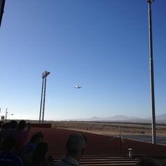 Photo taken at Aeropuerto La Florida (LSC - SCSE) by Sebastián R. on 2/24/2013