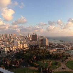 Photo taken at Hilton Tel Aviv by Monica B. on 6/16/2013