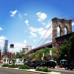 Photo taken at Under The Brooklyn Bridge by Ashley L. on 6/15/2013