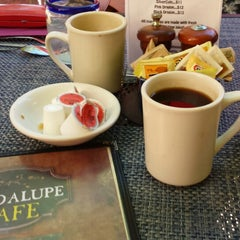 Photo taken at Guadalupe Cafe by Bill C. on 8/3/2013