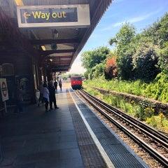 Photo taken at Wimbledon Park London Underground Station by Andy E. on 6/4/2013