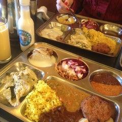 Photo taken at Beas Vegetarian Dhaba by Eva i. on 1/3/2013