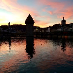 Photo taken at Seebrücke by Andrea B. on 12/21/2014