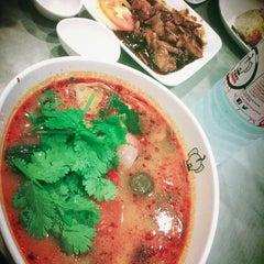 Photo taken at Porn's Sexy.Thai.Food by Shuri on 12/15/2014