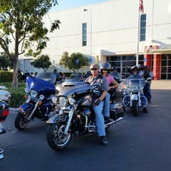 Photo taken at Orange County Harley-Davidson by Ellen R. on 9/11/2014