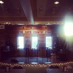 Photo taken at Floyd Country Store by Michael H. on 12/2/2014