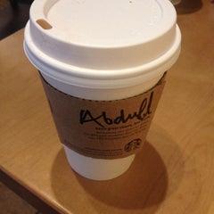 Photo taken at Starbucks by Abdullah A. on 1/20/2015