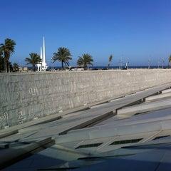 Photo taken at Bibliotheca Alexandrina | مكتبة الإسكندرية by Andrew G. on 1/19/2013
