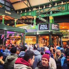 Photo taken at Borough Market by Kelly J. on 2/23/2013