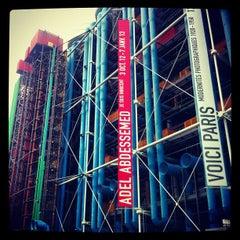 Photo taken at Bibliothèque Kandinsky by Stephane M. on 11/12/2012