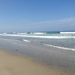 Photo taken at Cardiff State Beach by Collette M. on 7/22/2013