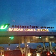 Photo taken at Juanda International Airport (SUB) by Rizka A. on 7/4/2013