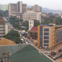 Photo taken at Diamond Trust Building Kampala Road by Kiggz on 1/14/2016
