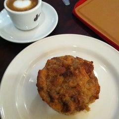 Photo taken at Serafina Bakery & Cafe by Mitchell S. on 3/25/2012