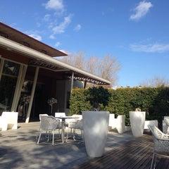 Photo taken at Hotel Spa Jardines de Lorca by Fran S. on 12/18/2013
