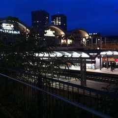 Photo taken at Mainz Hauptbahnhof by Markus T. on 10/15/2012