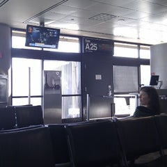 Photo taken at Gate A25 by Gilson J. on 11/14/2012