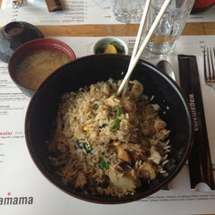 Photo taken at Wagamama by Merve O. on 4/22/2013