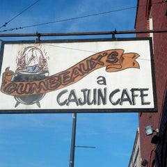Photo taken at Gumbeaux's Cajun Cafe by Jon P. on 4/23/2013