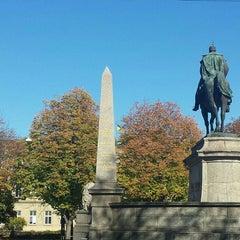 Photo taken at Karlsplatz by Фрекен Рина on 10/19/2014