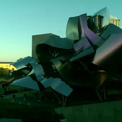 Photo taken at Hotel Marqués de Riscal by Kelli M. on 9/8/2015