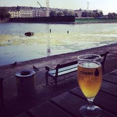 Photo taken at Den Franske Café by Tracey J. on 5/23/2014