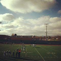 Photo taken at Garry Berry Stadium by Naomi T. on 10/26/2012