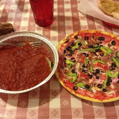 Photo taken at Vinny's Pizza by Florencia D. on 3/13/2014