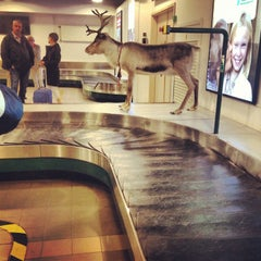 Photo taken at Umeå Airport (UME) by Sophie G. on 5/19/2013