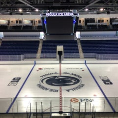 Photo taken at Pegula Ice Arena by Andy G. on 9/2/2013