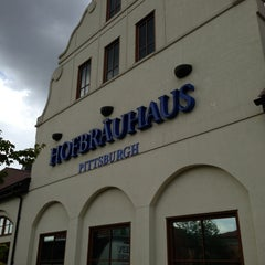 Photo taken at Hofbräuhaus Pittsburgh by Andy G. on 7/2/2013