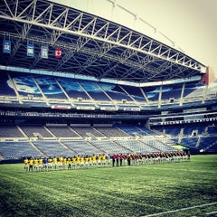 Photo taken at CenturyLink Field by Isaac C. on 7/28/2013
