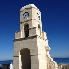 Photo taken at Town of Palm Beach by Matthew W. on 12/27/2012