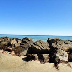 Photo taken at Hampton Beach State Park by Monika M. on 3/21/2012