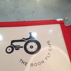 Photo taken at Boon Fly Cafe by Kaitlin N. on 4/6/2012