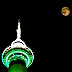 Photo taken at Sky Tower by leesstyle -. on 4/13/2013