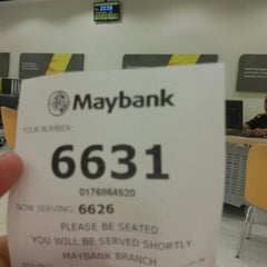 Photo taken at Maybank by Intan M. on 9/11/2015