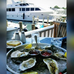 Photo taken at Atlantic Fish And Chop House by Morgan F. on 8/27/2015