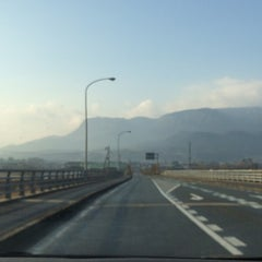 Photo taken at メルヘン大橋 by 54 on 1/30/2015