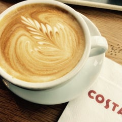 Photo taken at Costa Coffee by Krista J. on 4/19/2015