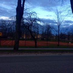 Photo taken at Siguldas Teniss by Anda S. on 4/22/2015