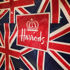 Photo taken at Harrods by Jeni B. on 3/14/2014