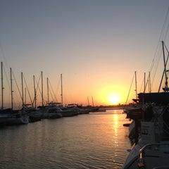 Photo taken at Charleston Harbor Resort & Marina by Jeni B. on 10/13/2012