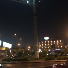 Photo taken at Sphinx Square | ميدان سفنكس by Ghada G. on 9/8/2014