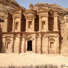 Photo taken at Petra البتراء by Martin L. on 6/8/2013