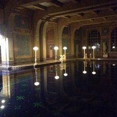 Photo taken at Hearst Castle Roman Pool by Jeannette N. on 11/30/2014