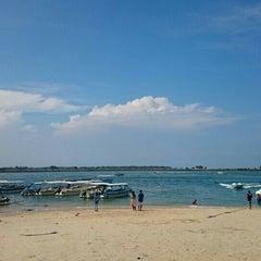 Photo taken at Tanjung Benoa Beach by James R. on 5/8/2016