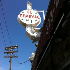 Photo taken at Manuel's Original El Tepeyac Cafe by Thomas H. on 10/13/2012
