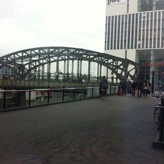 Photo taken at S Hackerbrücke by Brian L. on 9/30/2013
