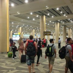 Photo taken at Ngurah Rai International Airport (DPS) by Joseph T. on 10/13/2013